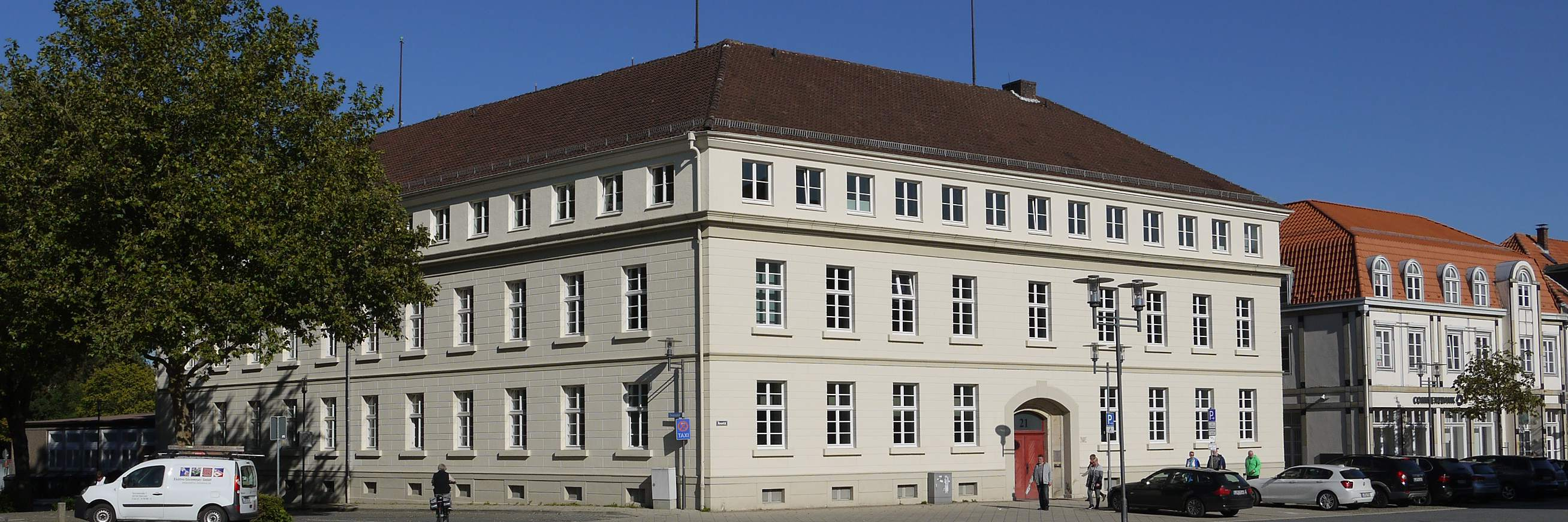 Ferdinand Brune Haus . Detmold