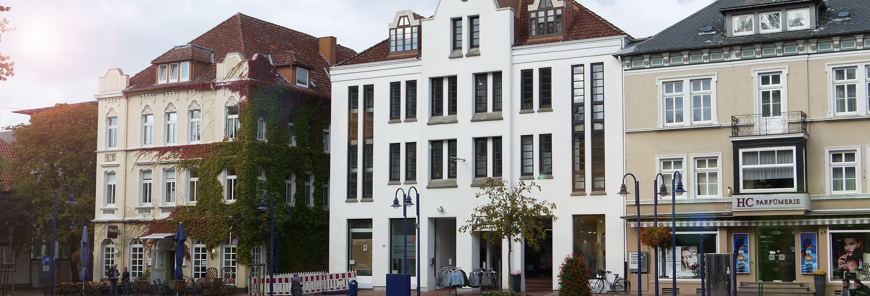 Rathaus 3 . Lage