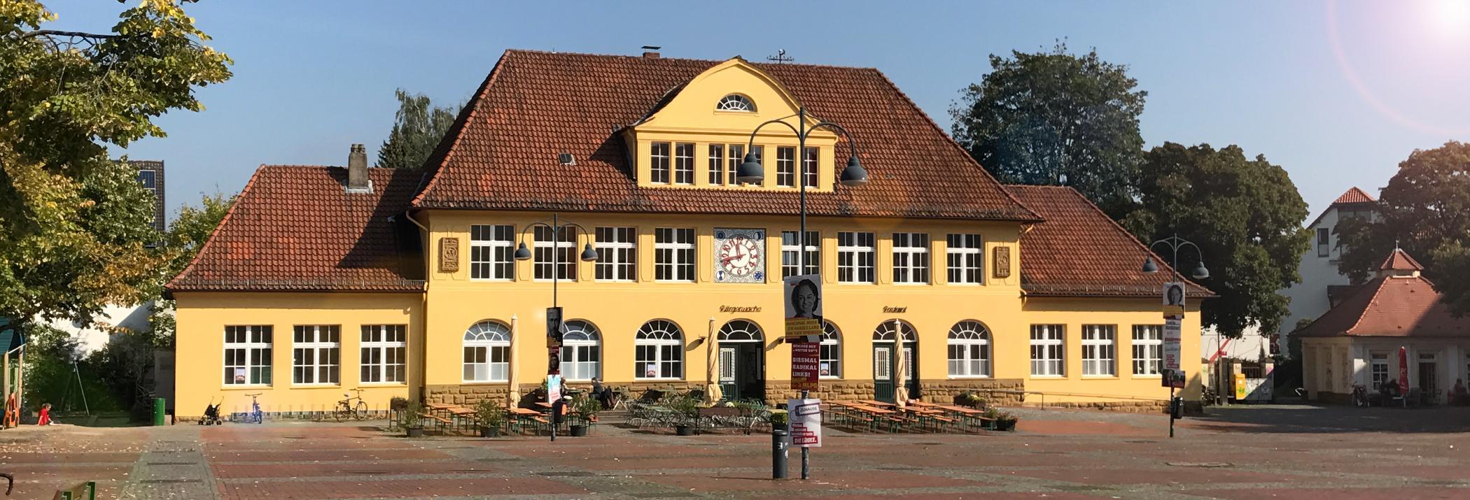 Bürgerwache Siegfriedplatz . Bielefeld
