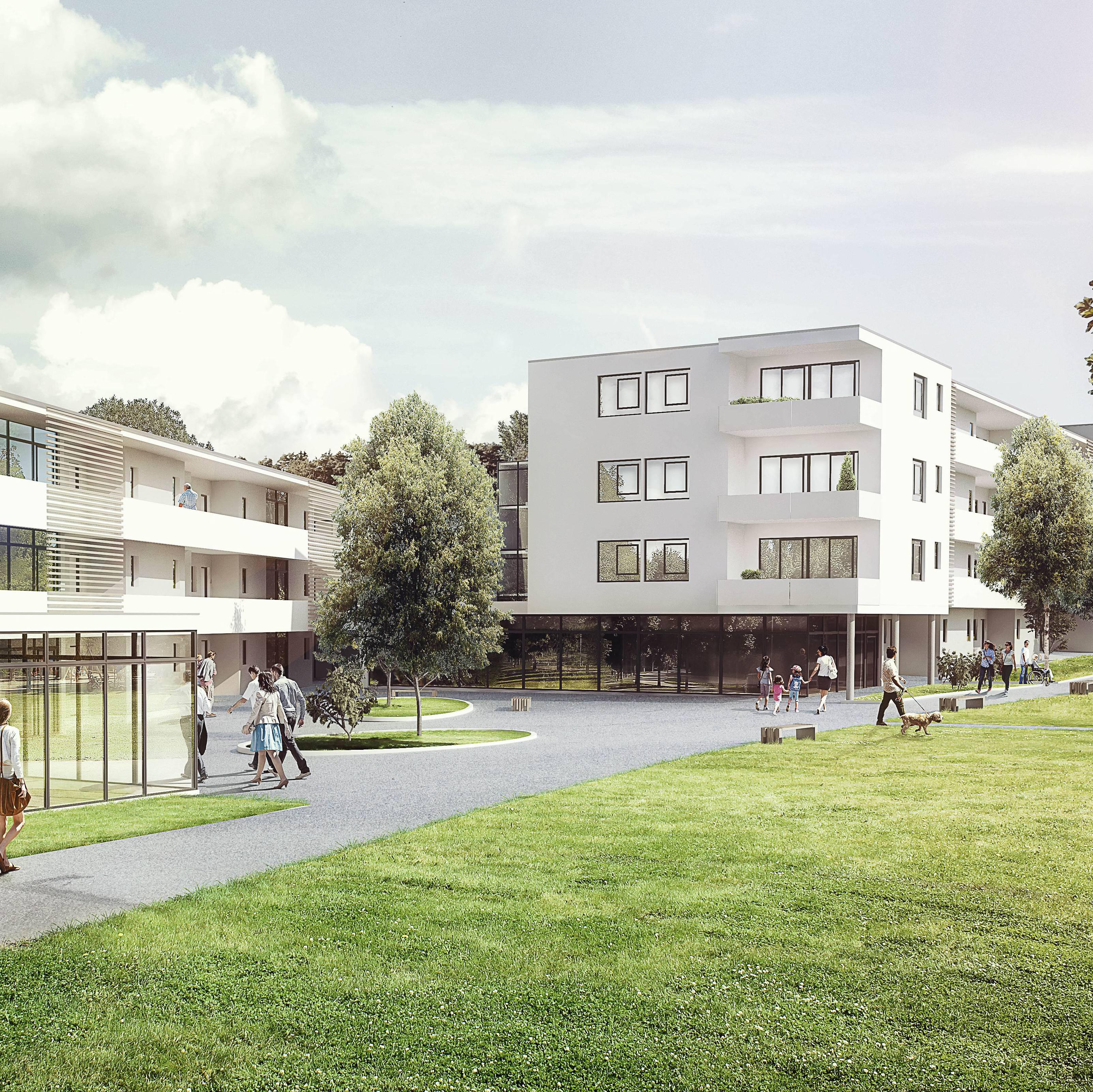 Wohnanlage Rabenhof . Bielefeld