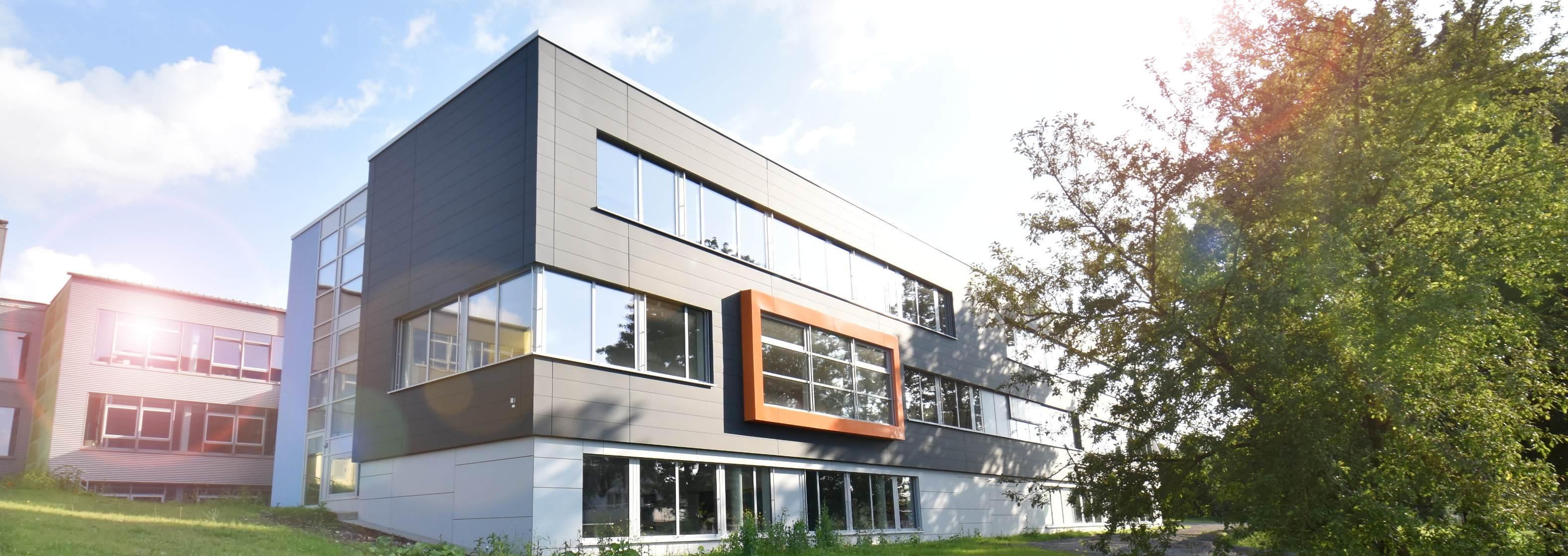 Neubau der Sek II der Gesamtschule . Büren